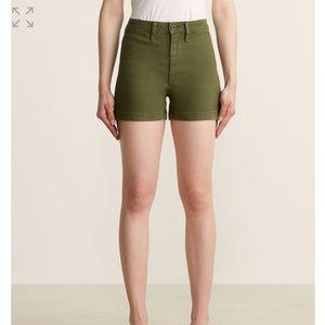 New MADEWELL Loden Emmett High-Rise Shorts